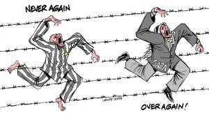 holocaust remembrance day by Carlos latuff
